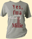 Yes, I'm A Millie official movie tee!